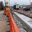 Liverpool: Edge Lane, by retail park