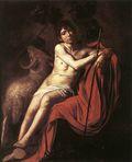 John the Baptist, by Caravaggio (1571-1610)