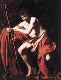 Caravaggio - St. John the Baptist (John in the Wilderness
