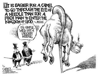 Buy a bigger needle