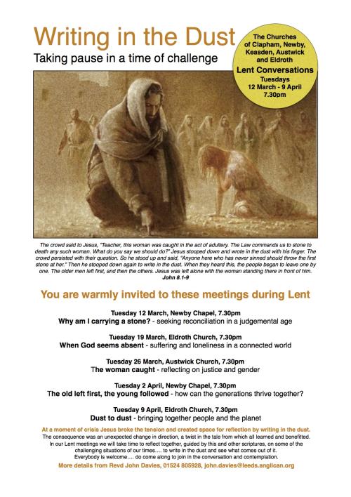 Lent Course 2019