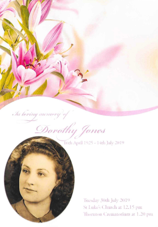 Dorothy-Service-Booklet