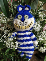 Knitted Cheshire Cat