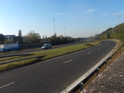 M62 from Court Hey Avenue