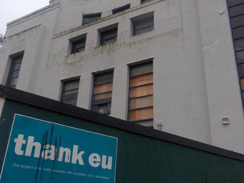 Liverpool: Edge Lane, old Littlewoods building