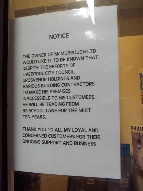 Liverpool: School Lane