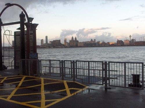 Birkenhead: Liverpool waterfront from Woodside ferry