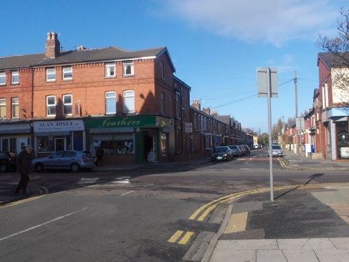Waterloo: St John's Road from Lyra Road