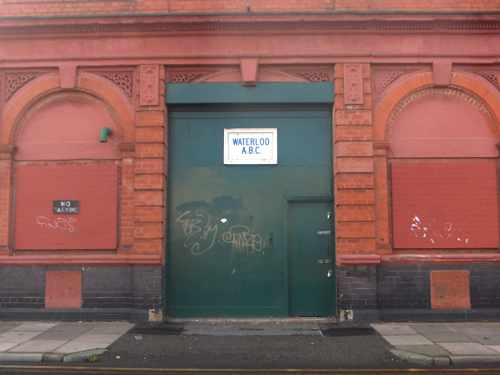 Waterloo: old electricity substation, top of King Street